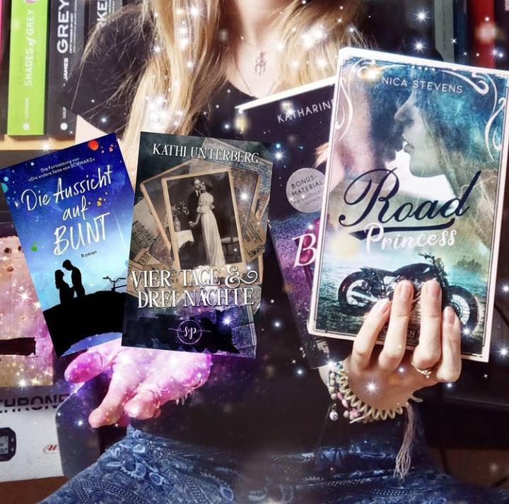 Bilder der vier Bücher, die ich im März gelesen habe